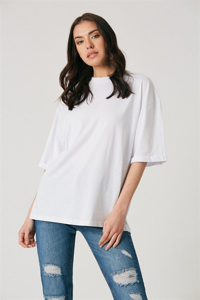 Robin Basic T-Shirt Ekru