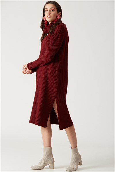 Robin Triko Tunik Bordo